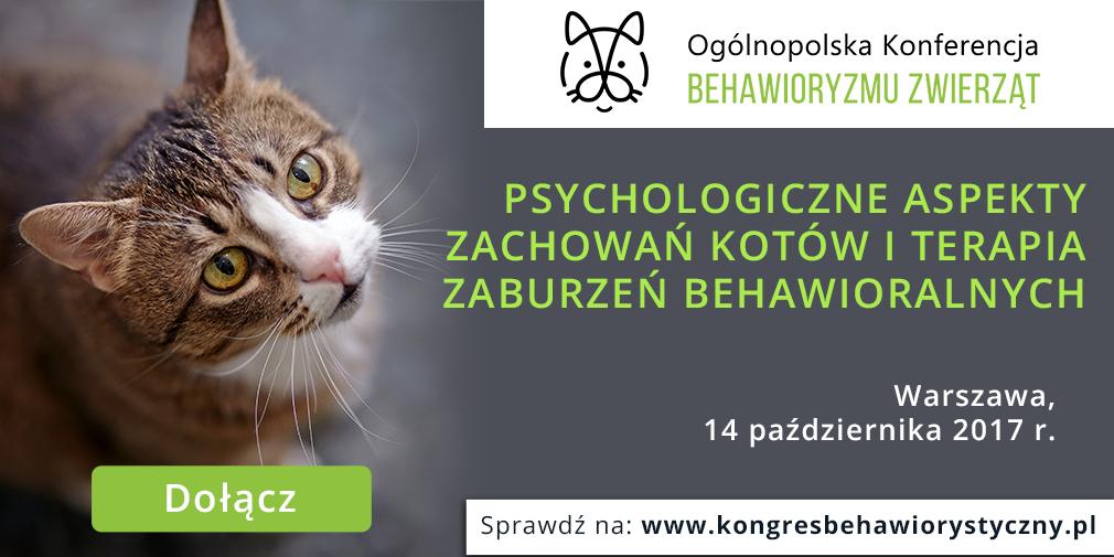Ogólnopolska Konferencja Behawioryzmu Zwierząt – 14.10.2017 r. – Warszawa