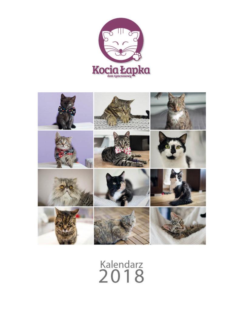 Charytatywny kalendarz DT Kocia Łapka 2018 już w przedsprzedaży!