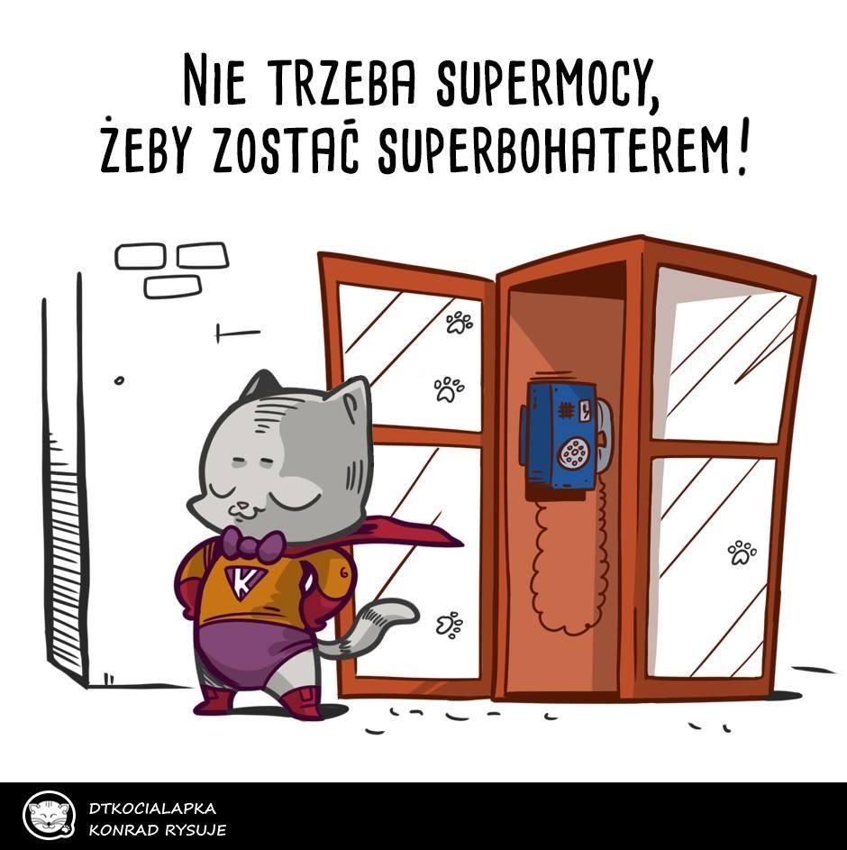 Odkryj w sobie supermoce i zostać kocim superbohaterem!
