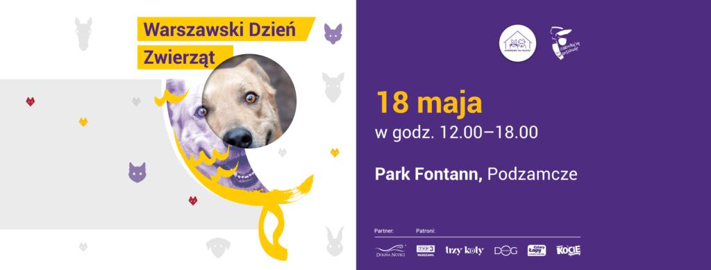 4 Warszawski Dzień Zwierząt – 18 maja 2019 r.