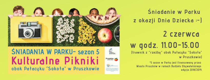 Śniadania w Parku – 2 czerwca 2019 – Pruszków