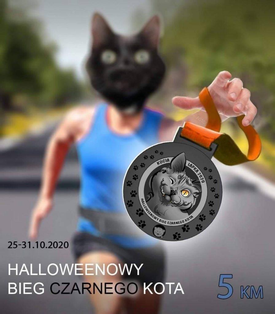 Wirtualny Halloweenowy Bieg Czarnego Kota – Kocia Łapka 2020