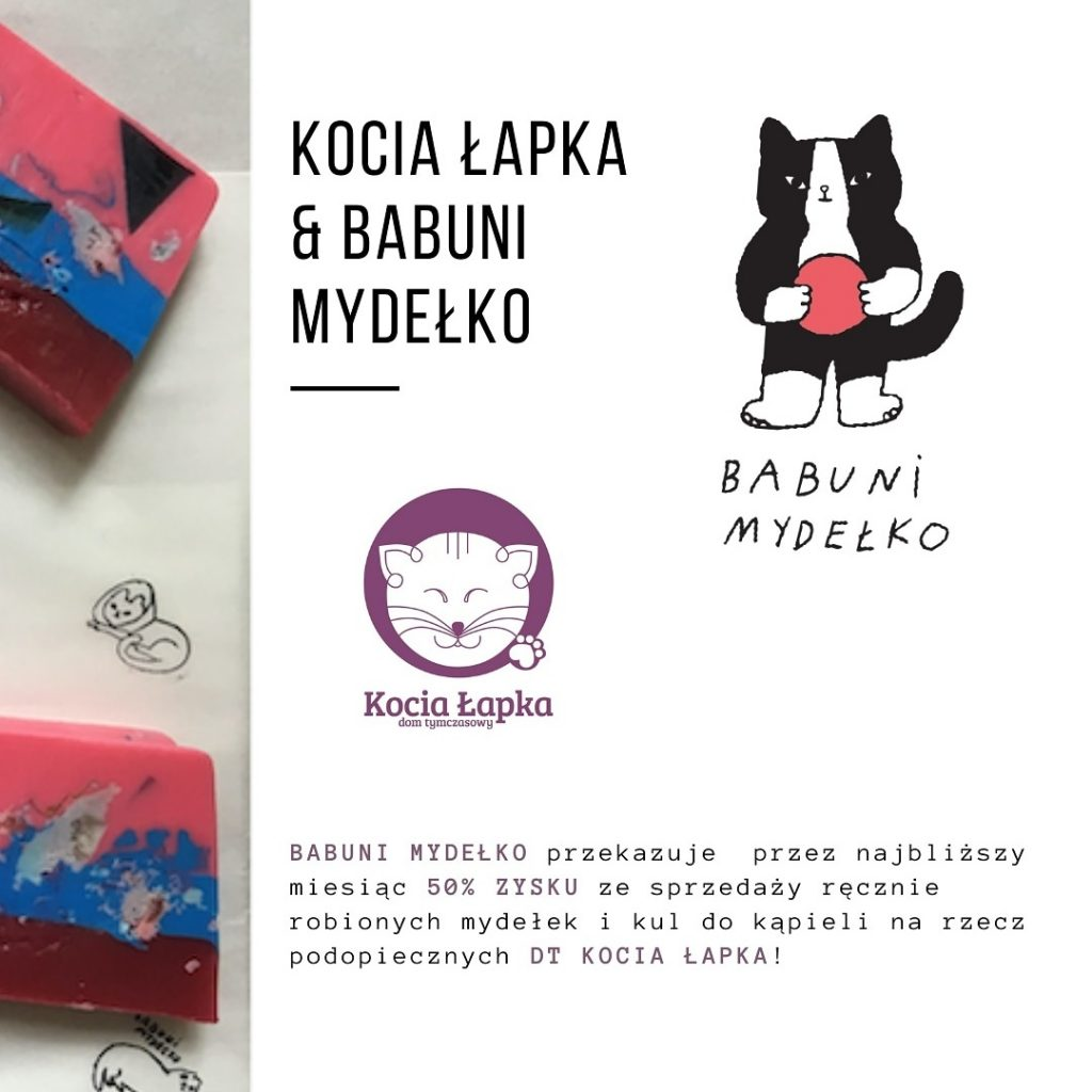 @babuni_mydelko dla Kociej Łapki
